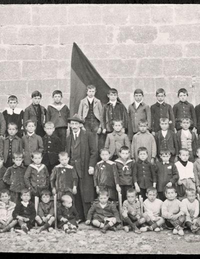 1920, abril, 10. Angüés. Fotógrafo: Gabriel Gallego. Fototeca de la Diputación Provincial de Huesca.